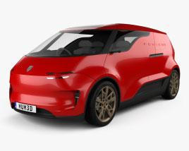 Porsche Vision Renndienst 2018 3D model
