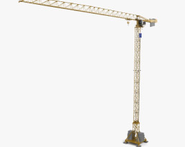 3D model of Potain Tower Crane MDT 389 2019