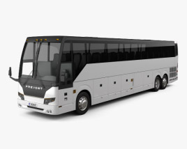 3D model of Prevost H3-45 Bus 2004