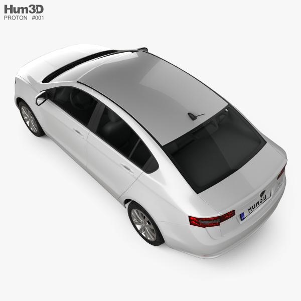 Proton Preve 2012 3D model