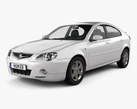 3D model of Proton Gen-2 hatchback 2012