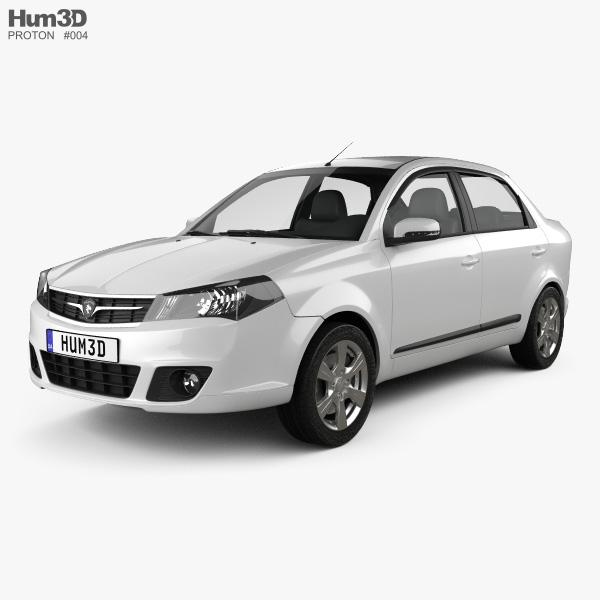3D model of Proton Saga FLX 2012