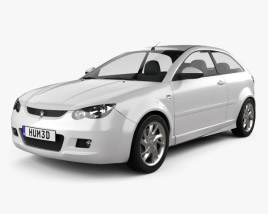 3D model of Proton Satria 2012