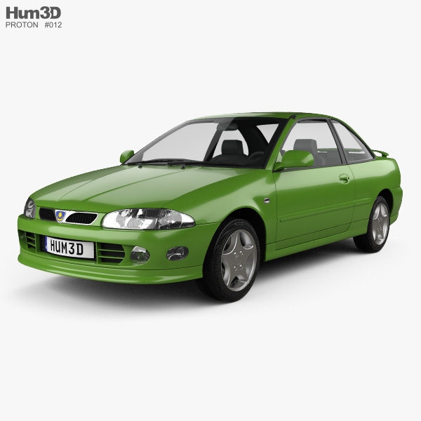 3D model of Proton Putra 1995
