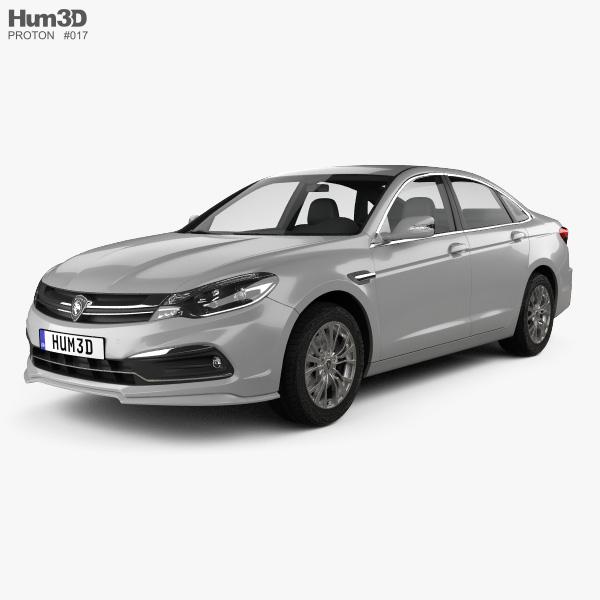3D model of Proton Perdana 2017
