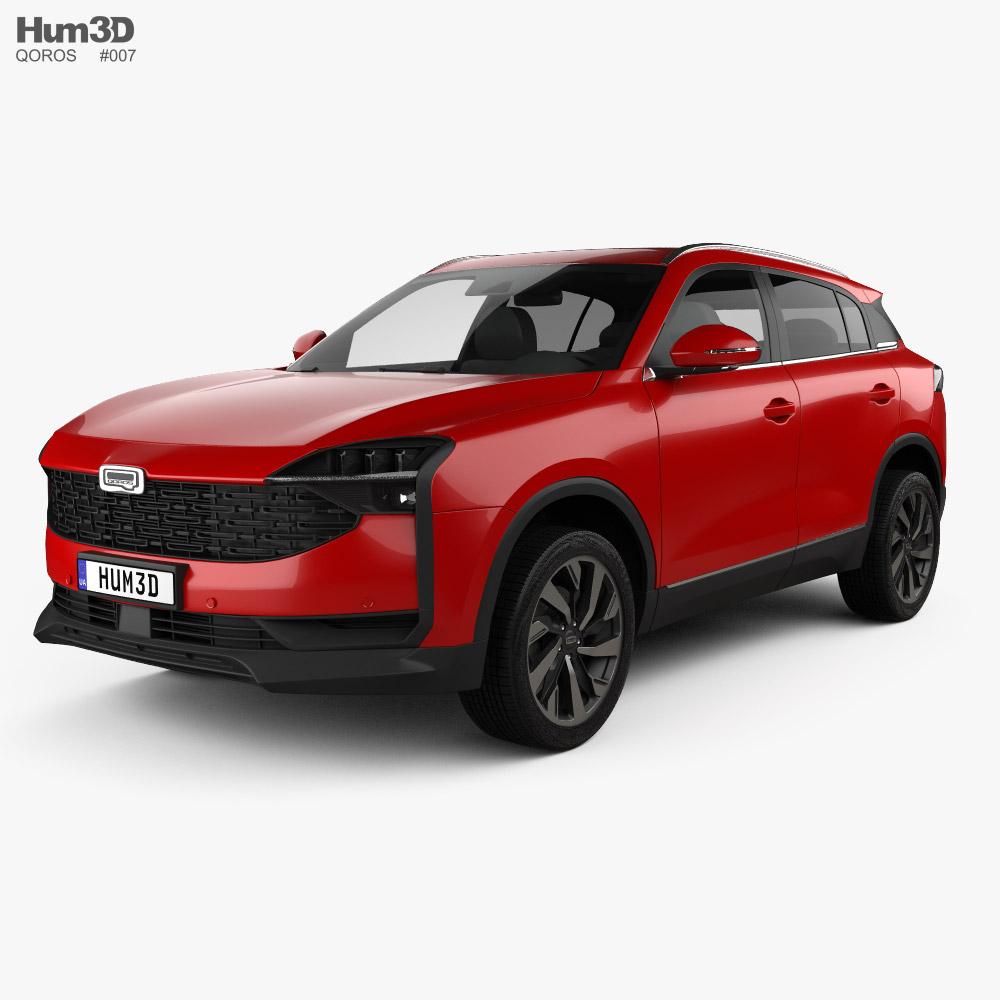 Qoros 7 2020 3D model