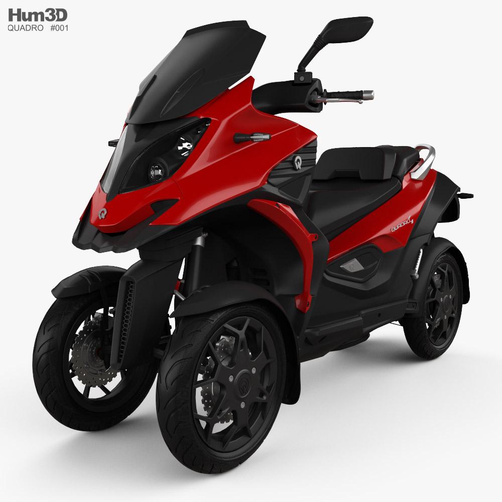 3D model of Quadro 4 2019