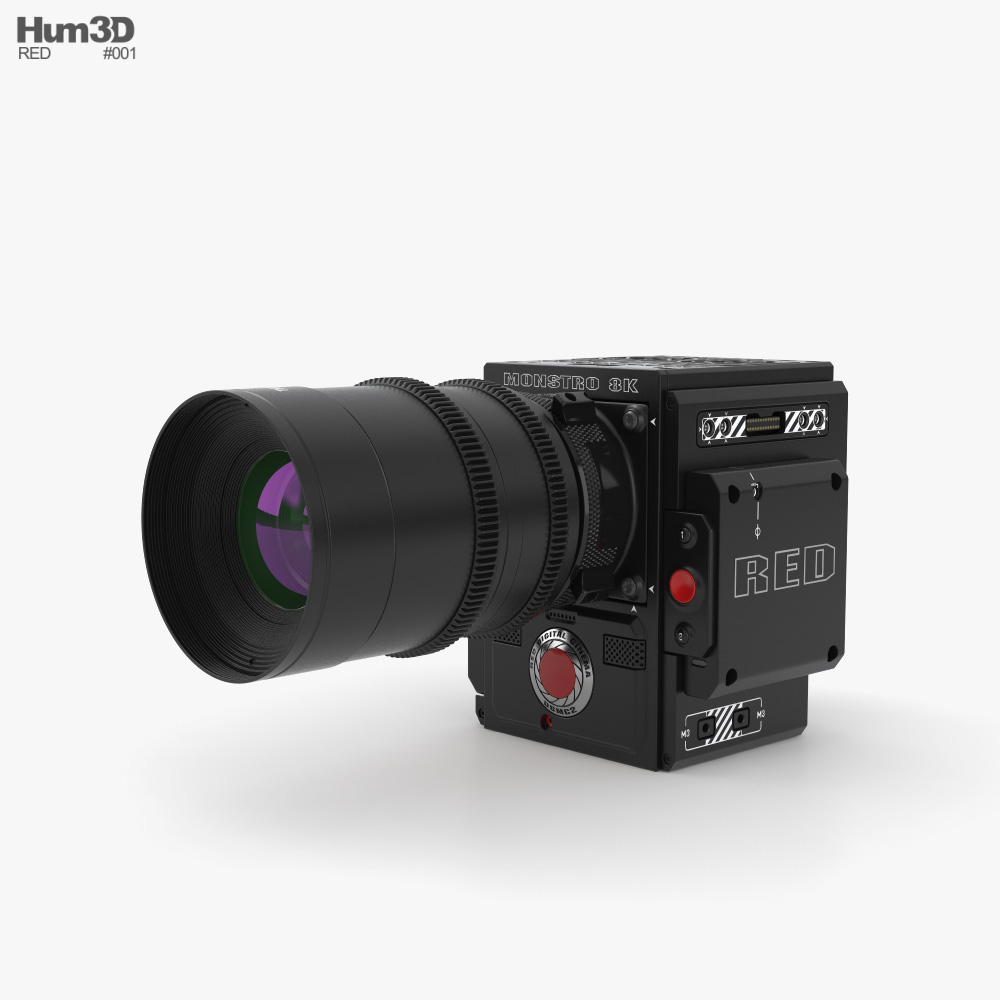 RED MONSTRO 8K VV Cámara de cine Modelo 3D