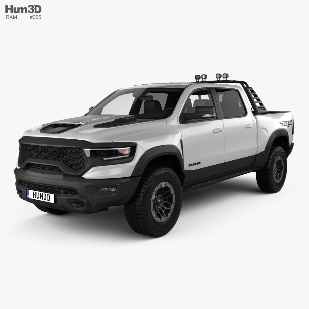 Ram 1500 Crew Cab TRX Mopar Performance Parts 2020 3D model