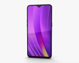 3D model of Realme 3 Pro Lightning Purple