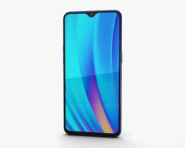 3D model of Realme 3 Pro Nitro Blue