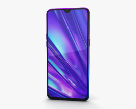 3D model of Realme 5 Pro Crystal Blue