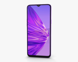 3D model of Realme 5 Crystal Purple