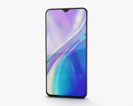 3D model of Realme XT Pearl White
