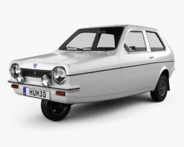 3D model of Reliant Robin 1973