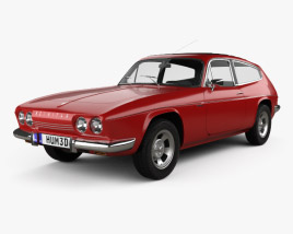 3D model of Reliant Scimitar GTE 1970