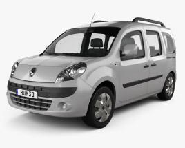 3D model of Renault Kangoo 2010