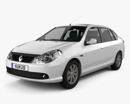 3D model of Renault Symbol 2010