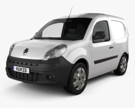 3D model of Renault Kangoo Compact 2011