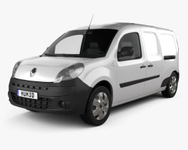 3D model of Renault Kangoo Maxi 2011