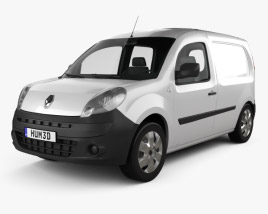 3D model of Renault Kangoo Van 1 Side Door 2011