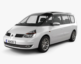 3D model of Renault Grand Espace 2011