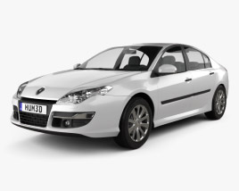3D model of Renault Laguna 2011
