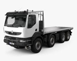Renault Kerax Beavertail Plant 2011 3D model
