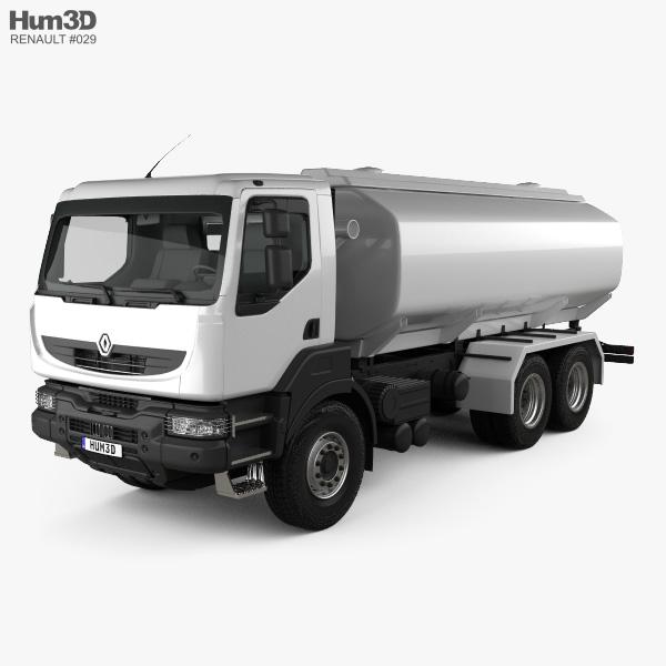 Renault Kerax Tanker 2011 3D model