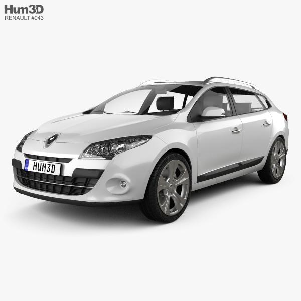 Renault Megane Estate 2011 3D model