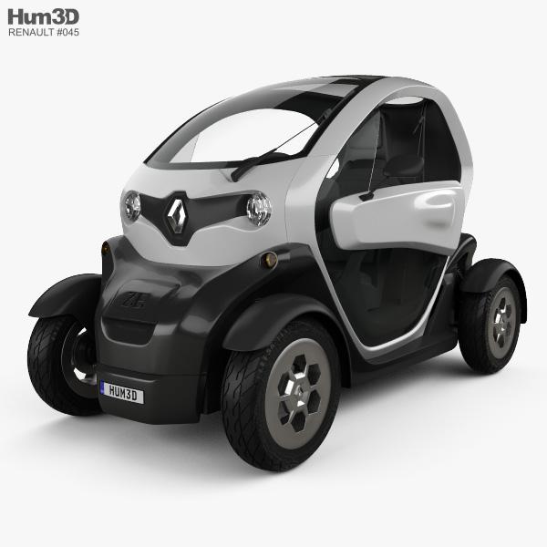 Renault Twizy 2012 3D model