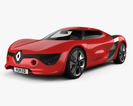3D model of Renault DeZir 2010