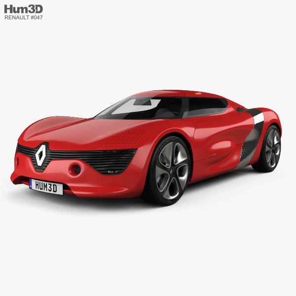 Renault DeZir 2010 3D model