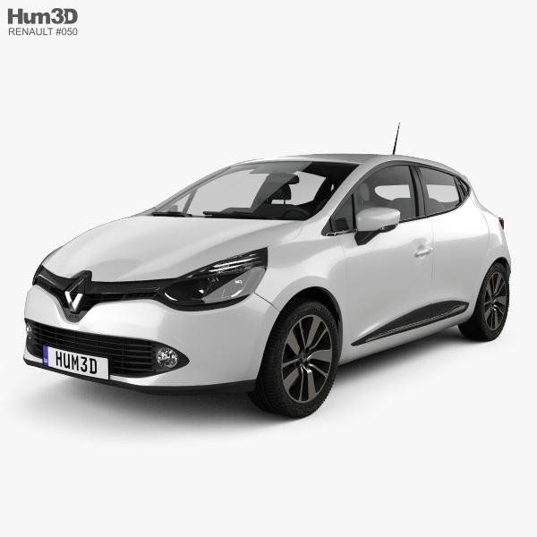 Renault Clio IV 2013 3D model
