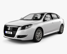 3D model of Renault Talisman 2013