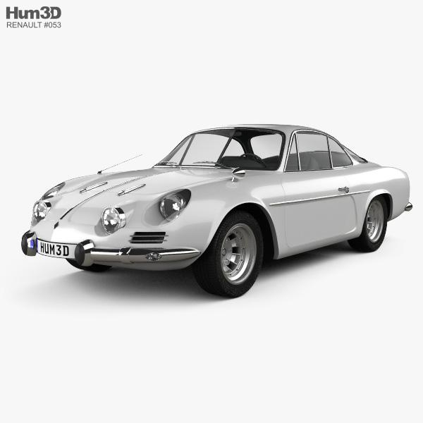 Renault Alpine A110 1970 3D model