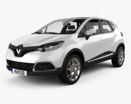 3D model of Renault Captur 2014