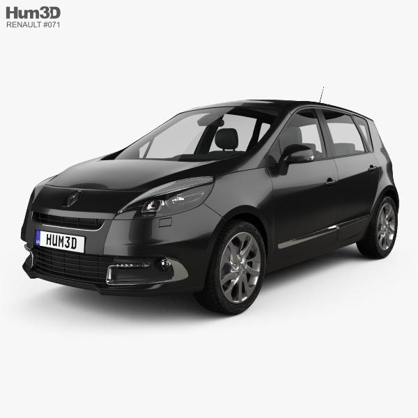 Renault Scenic 2013 3D model