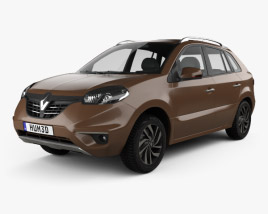 3D model of Renault Koleos 2014