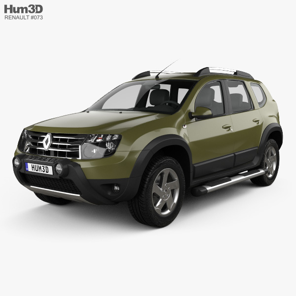 3D model of Renault Duster (BR) 2013