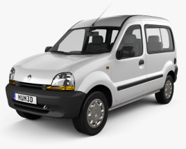 3D model of Renault Kangoo 1997