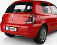 Renault Clio Mercosur 3-door hatchback 2013 3d model