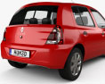 Renault Clio Mercosur 5-door hatchback 2013 3d model