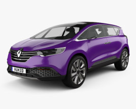 3D model of Renault Initiale Paris 2013