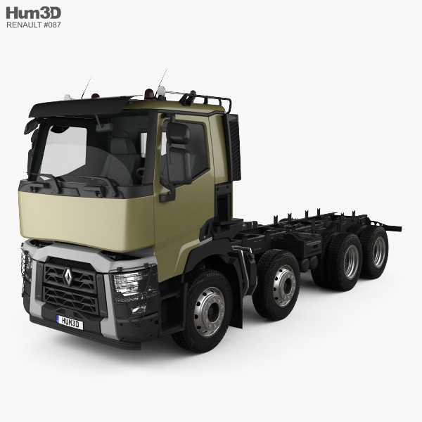 Renault C Chassis Truck 2013 3D model
