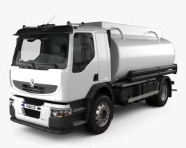 3D model of Renault Premium Lander Tanker Truck 2006