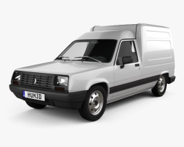 3D model of Renault Express 1985
