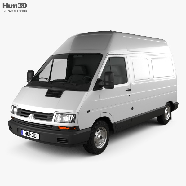 Renault Trafic Panel Van HR 1995 3D model