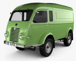 3D model of Renault Goelette (1400 kg) 1949