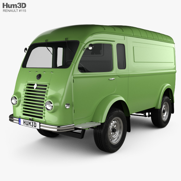 Renault Goelette (1400 kg) 1949 3D model